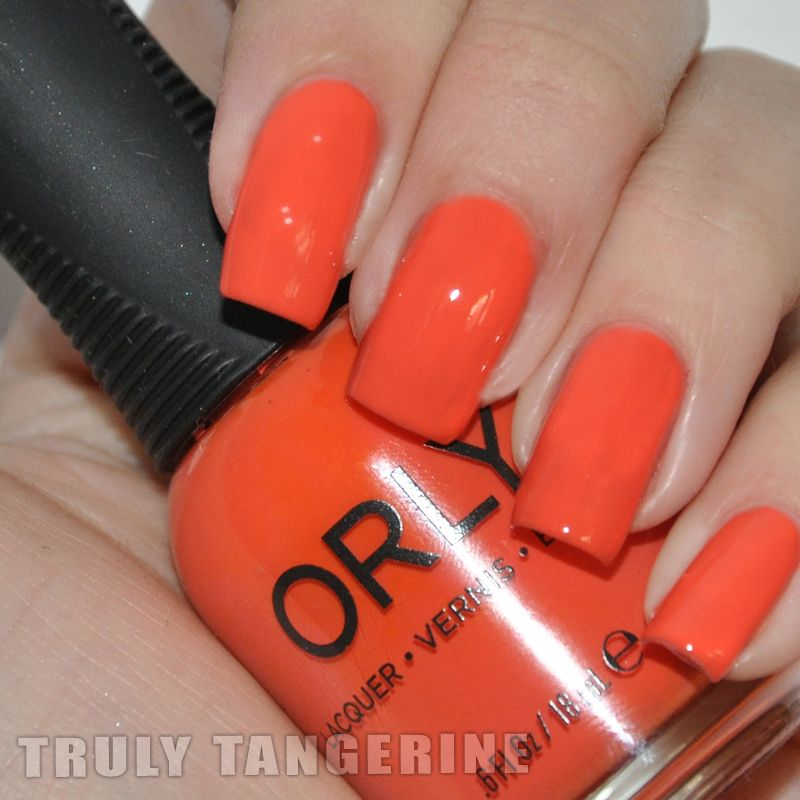 Orly Truly Tangerine